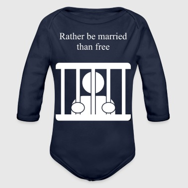 Married Married - Organic Long Sleeve Baby Bodysuit