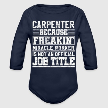 Carpenter carpenter - Organic Long Sleeve Baby Bodysuit