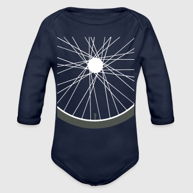 Bicycle-tour Bicycle tire rims tour - Organic Long Sleeve Baby Bodysuit