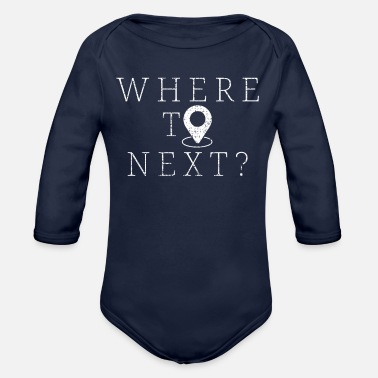 Hike Hiking Hiking - Organic Long-Sleeved Baby Bodysuit