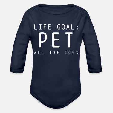 Caress Caress animals - Organic Long Sleeve Baby Bodysuit