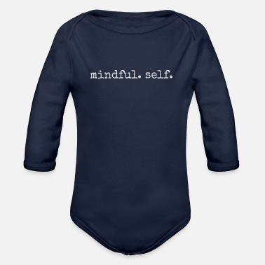 Mindful In Nature Mindful Self - Organic Long-Sleeved Baby Bodysuit
