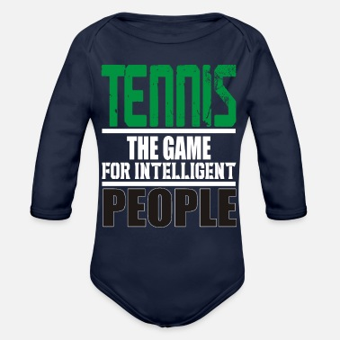 Tennis Game Tennis The Game - Organic Long-Sleeved Baby Bodysuit