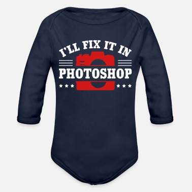 Graphic graphic - Organic Long-Sleeved Baby Bodysuit