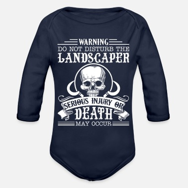 Landscape Not Disturb The Landscape Shirts - Organic Long Sleeve Baby Bodysuit
