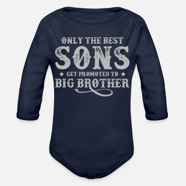 Father And Son Superman Only The Best Sons T Shirt - Organic Long-Sleeved Baby Bodysuit