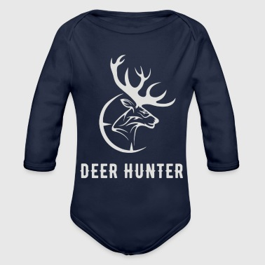 Deer Hunter - Organic Long Sleeve Baby Bodysuit