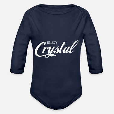 Gustavo Fring enjoy CRYSTAL - Organic Long-Sleeved Baby Bodysuit