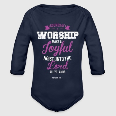 Sounds of Worship - Organic Long Sleeve Baby Bodysuit