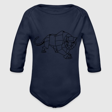 panther - Organic Long Sleeve Baby Bodysuit