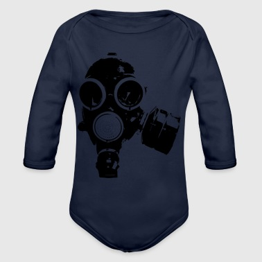 Gas gas - Organic Long Sleeve Baby Bodysuit