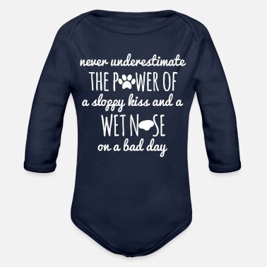 Dogowner Dog - Dogs - Dogowner - Gift - Organic Long-Sleeved Baby Bodysuit