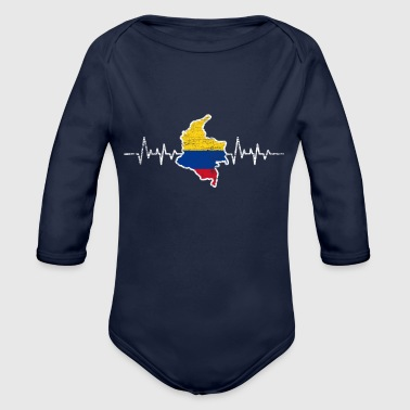 Colombia Colombia - Organic Long Sleeve Baby Bodysuit