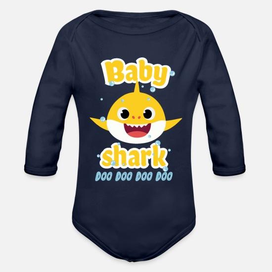 9829ee7b Organic Long-Sleeved Baby BodysuitBaby shark doo doo shirt toddlers outfit  girl