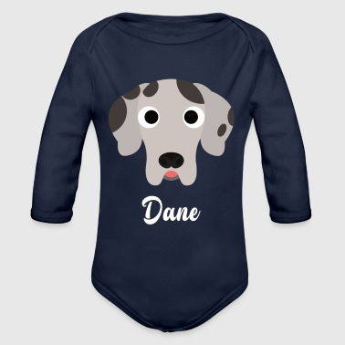 Dane - Great Dane - Organic Long Sleeve Baby Bodysuit