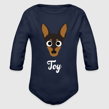 Toy - Toy Terrier - Organic Long Sleeve Baby Bodysuit