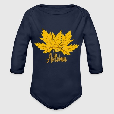 Fall - Organic Long Sleeve Baby Bodysuit