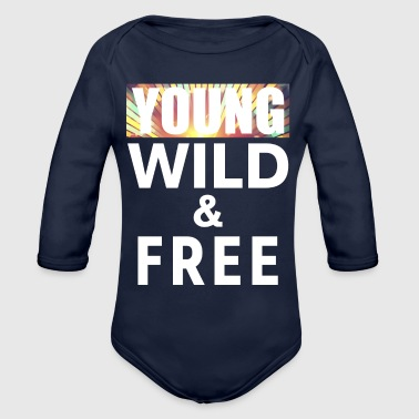 Young Wild Free 11 - Organic Long Sleeve Baby Bodysuit