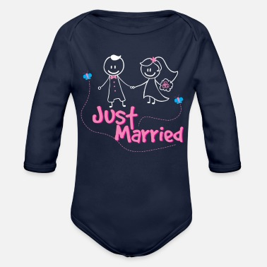 Merry Merried - Organic Long Sleeve Baby Bodysuit