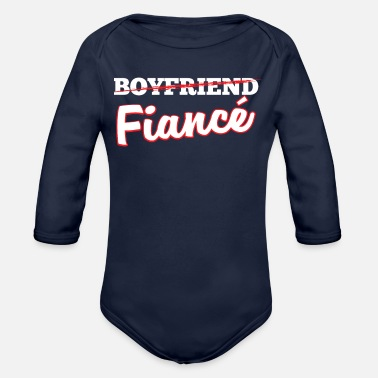 Fiance Fiance - Organic Long-Sleeved Baby Bodysuit