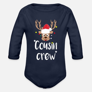 Cousin Cousin Crew Christmas - Organic Long-Sleeved Baby Bodysuit