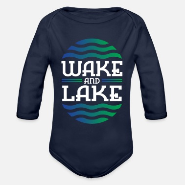 Lake WAKE AND LAKE - Organic Long-Sleeved Baby Bodysuit
