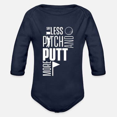 Pitch Pitching - Organic Long-Sleeved Baby Bodysuit