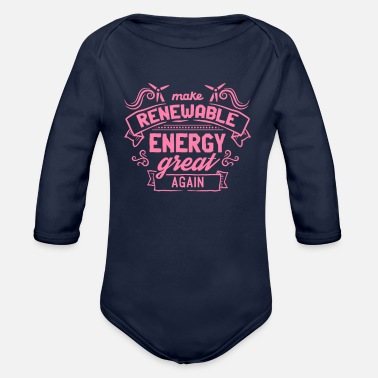 Energies Renewable Energy Renewable Energy - Organic Long-Sleeved Baby Bodysuit