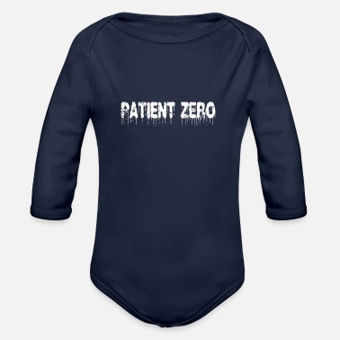 Null corona patient null - Organic Long-Sleeved Baby Bodysuit