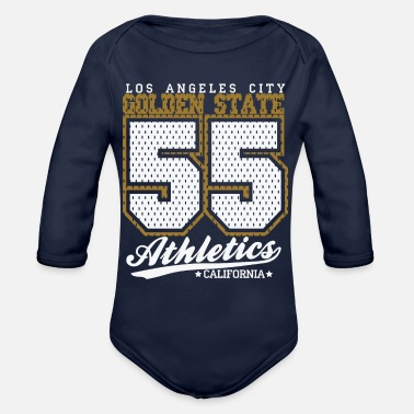 Golden State Golden State California - Organic Long-Sleeved Baby Bodysuit