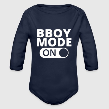 MODE ON BBOY - Organic Long Sleeve Baby Bodysuit
