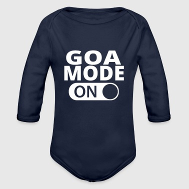 Goa MODE ON GOA - Organic Long Sleeve Baby Bodysuit