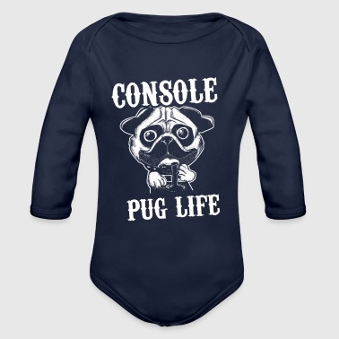 Console - Organic Long Sleeve Baby Bodysuit