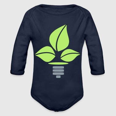 Eco Lightbulb - Organic Long Sleeve Baby Bodysuit