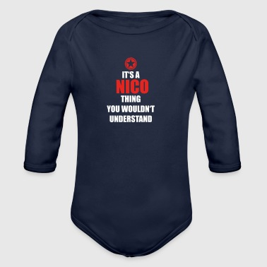 Geschenk it s a thing birthday understand NICO - Organic Long Sleeve Baby Bodysuit