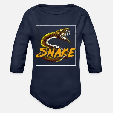 Legless Snake Charming Performances Gift Ideas T-Shirt - Organic Long-Sleeved Baby Bodysuit