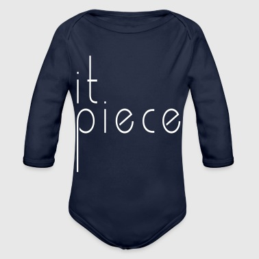 Piece it piece - Organic Long Sleeve Baby Bodysuit