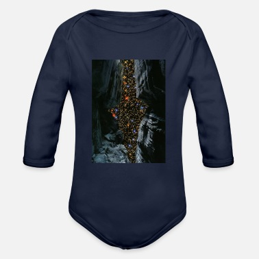Origin of the universe - Organic Long-Sleeved Baby Bodysuit