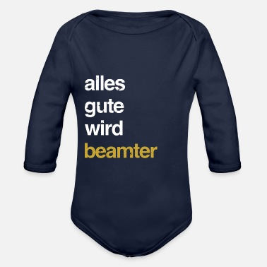 Government Government employee - Organic Long-Sleeved Baby Bodysuit