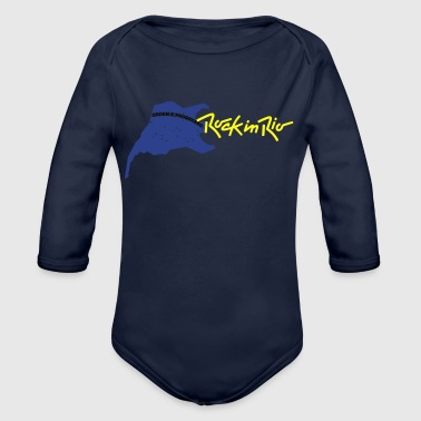 rock in rio - Organic Long Sleeve Baby Bodysuit