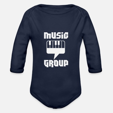 Music Group Music Group Community - Organic Long-Sleeved Baby Bodysuit