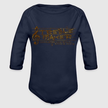 High School Senior NICKELBERN HIGH SCHOOL SENIOR CHOIR - Organic Long Sleeve Baby Bodysuit