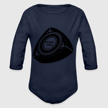 60 years rotary - Organic Long Sleeve Baby Bodysuit