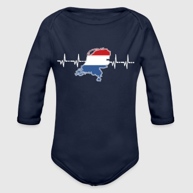 Netherlands - Organic Long Sleeve Baby Bodysuit