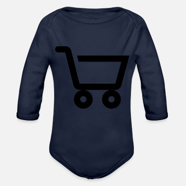 Shops Shopping - Organic Long Sleeve Baby Bodysuit