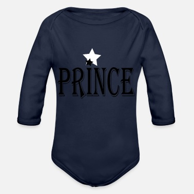 Prince PRINCE - Organic Long-Sleeved Baby Bodysuit