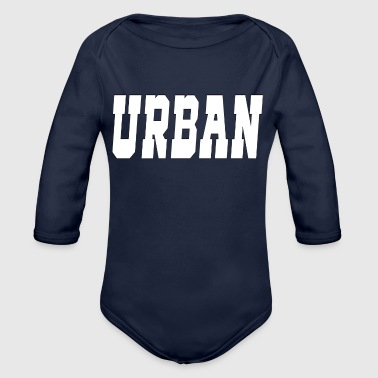 urban - Organic Long Sleeve Baby Bodysuit