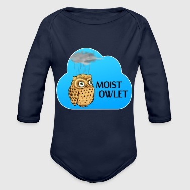 Owlet Moist Owlet - Organic Long Sleeve Baby Bodysuit