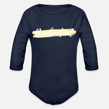 Bomboclaat - Organic Long-Sleeved Baby Bodysuit