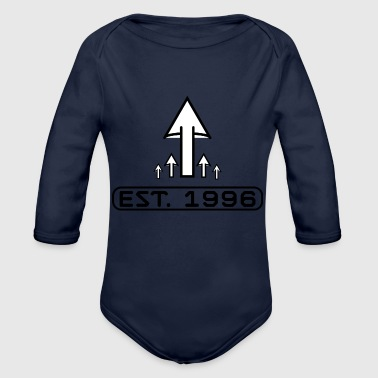 Established Established 1996 - Organic Long Sleeve Baby Bodysuit